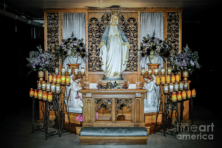 Green Bay Photograph - National Shrine of Our Lady of Good Help by Nikki Vig