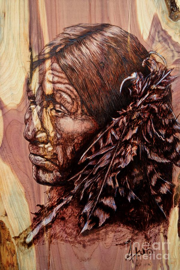 Natural Painting - Native by Amanda Hukill