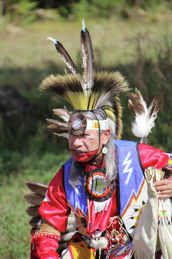 Native American Dancer - RDW006495 by Dean Wittle
