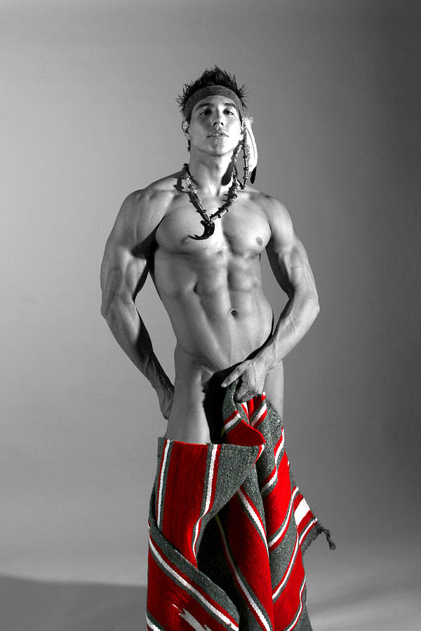 Native american male nude