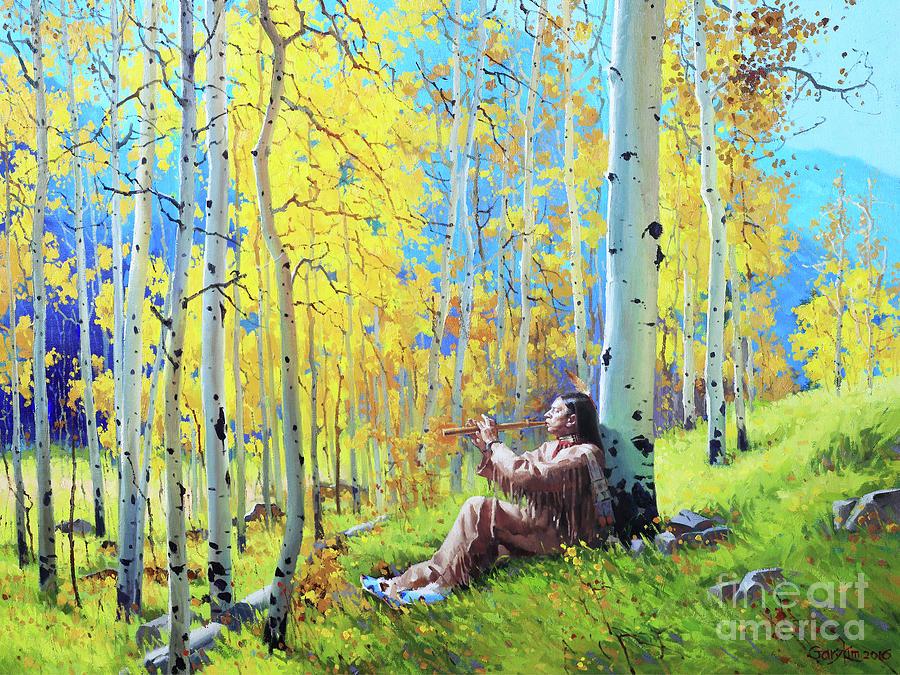 Native Spirit Painting by Gary Kim