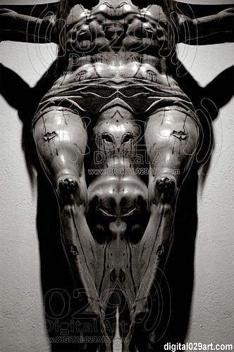 Native Suffering Digital Art by Flex Maslan