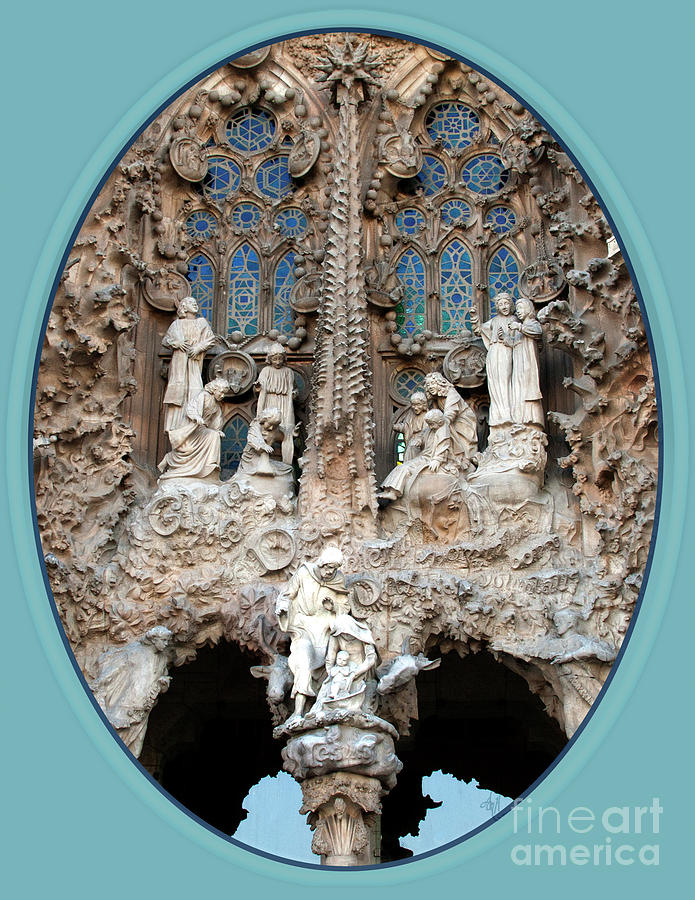 Nativity Photograph - Nativity Barcelona by Victoria Harrington