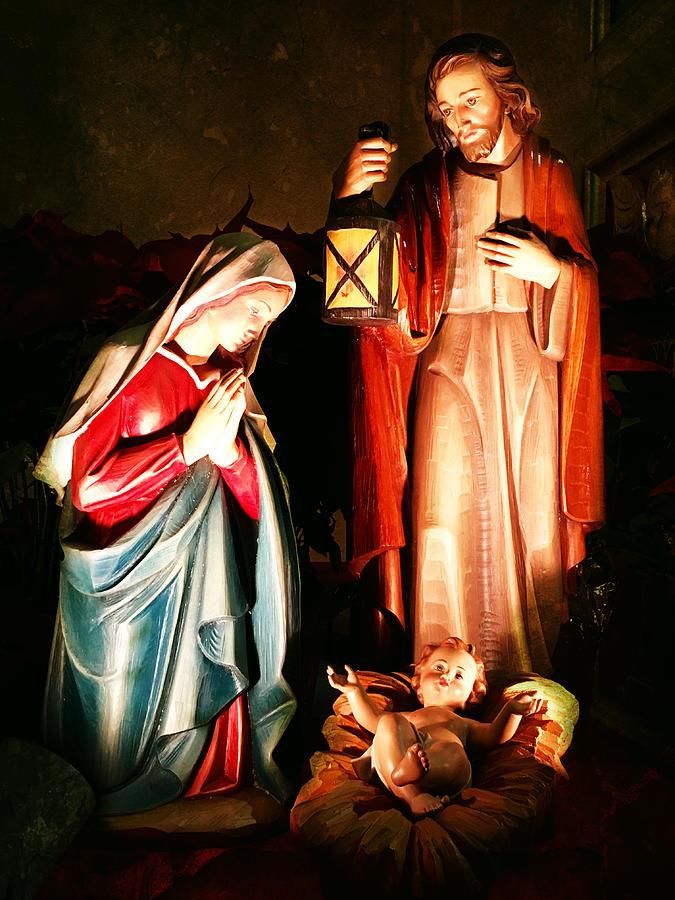 Beautiful Religious Christmas Cards.Nativity Christmas Card Ii