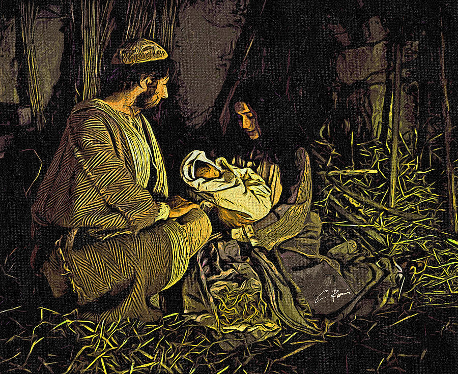 Nativity Scene by Charlie Roman