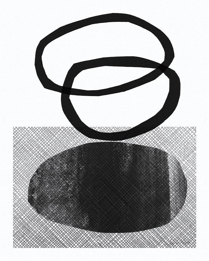 Natural Balance- Abstract Art Mixed Media