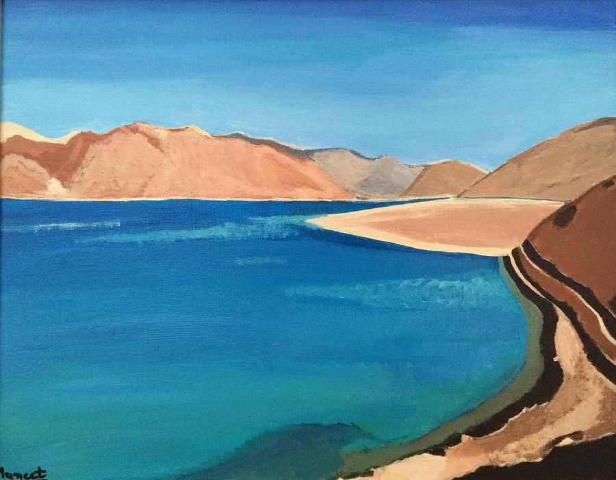 Landscape Painting - Natural Landscape by Maneet Kaur