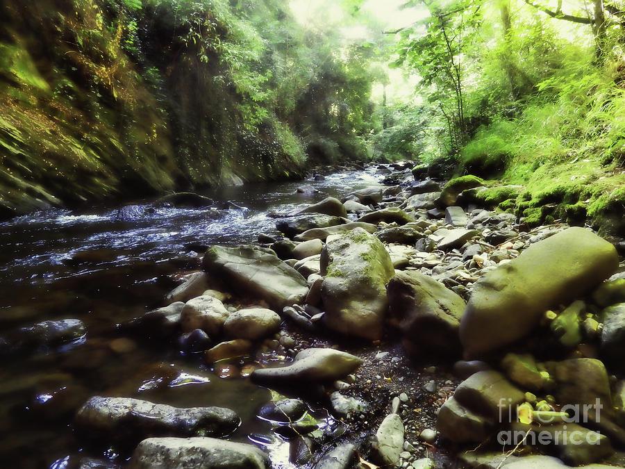 Rocks Photograph - Natural Place by Ivan Gomez