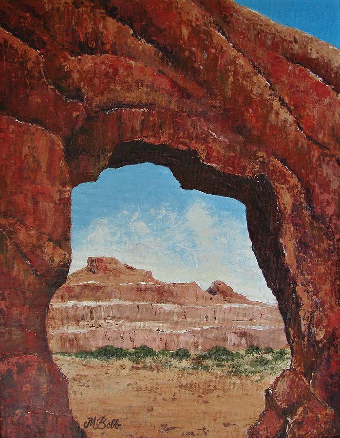 Landscape Painting - Natural Window by Margaret Bobb