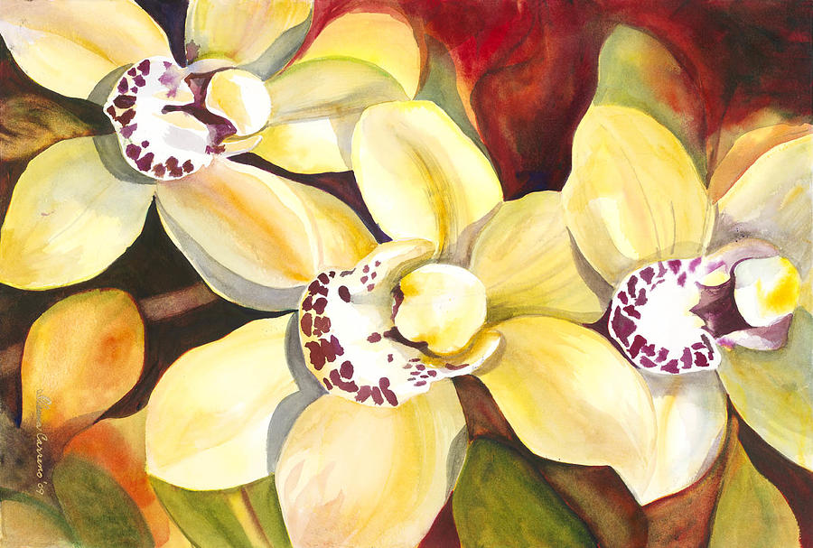 Nature Gift Of Color Painting by Ileana Carreno