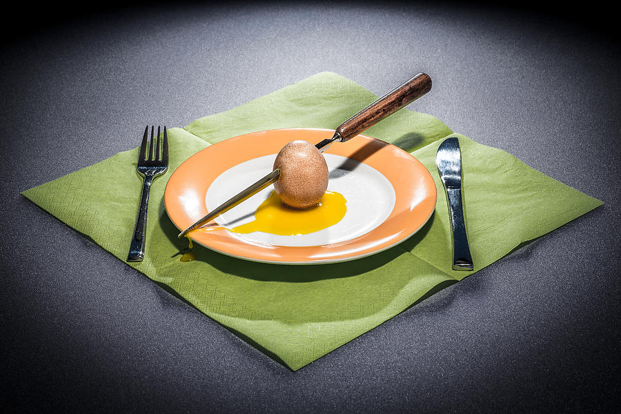 Egg Photograph - Nature Morte IIi by Tom R. Grabuschnigg (tomtitan)