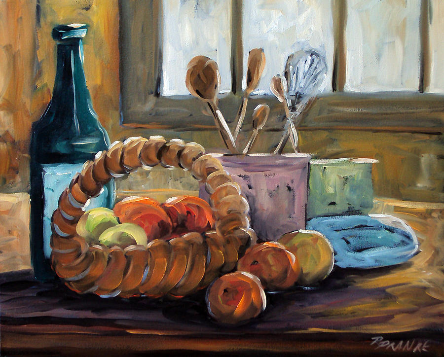 Painting Painting - Nature Morte by Richard T Pranke