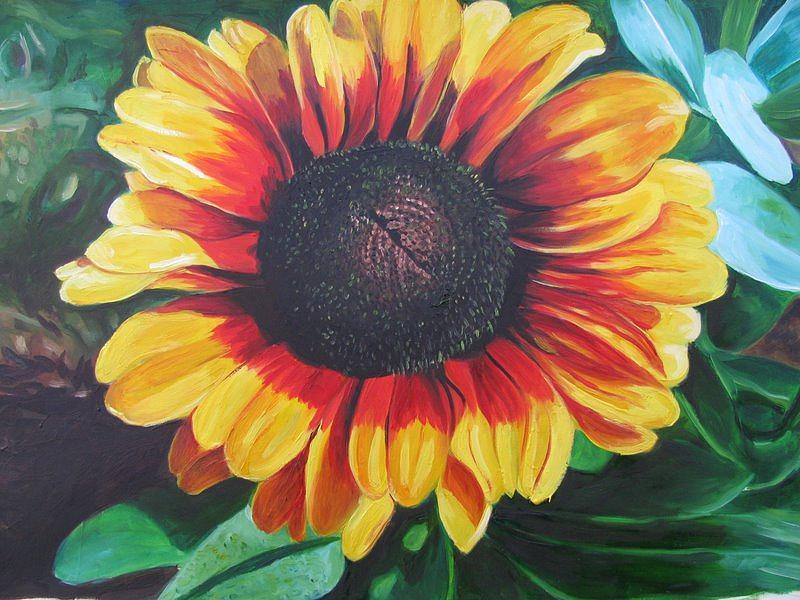 Nature Painting - Nature by Reeta  Arora