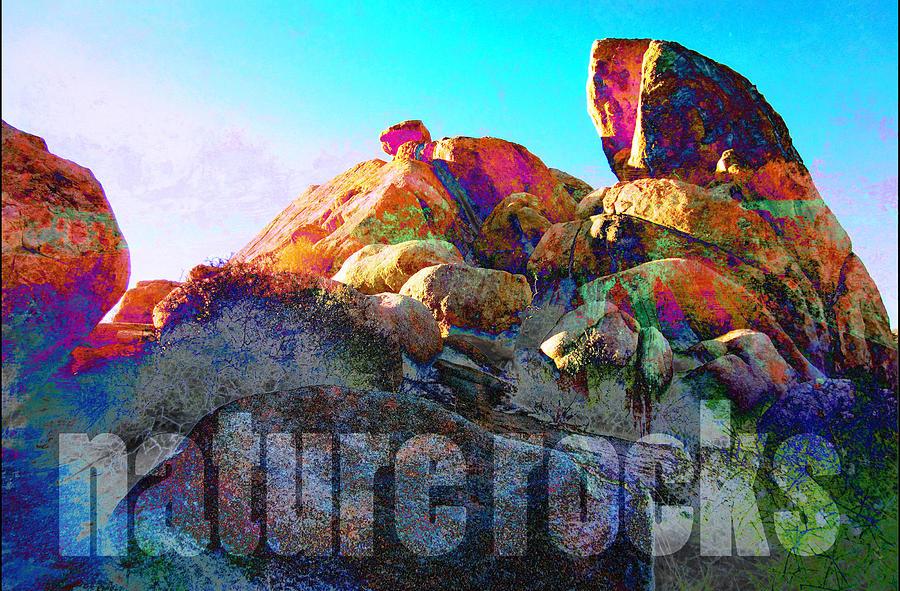 Nature Rocks Desert Landscape by John Fish