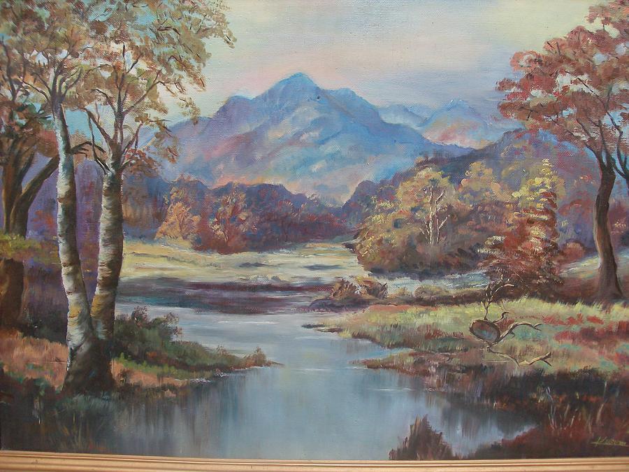 Landscape Painting - Nature Scene by Kusum Manohar