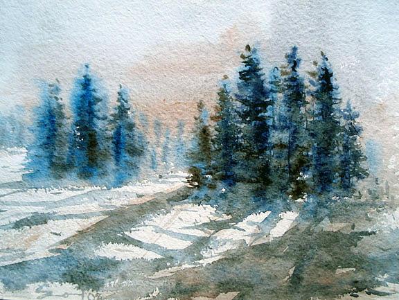 Landscape Painting - Nature by Sm Shohel Rana
