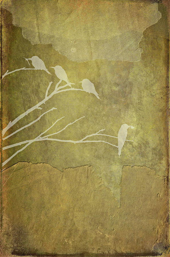 Yellow Photograph - Nature Study In Gold  by Andrea Kollo