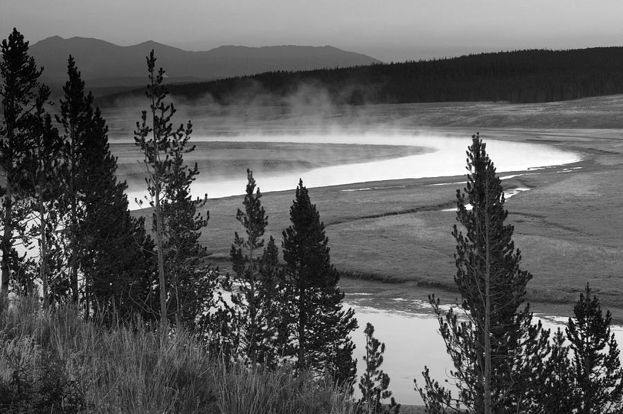 Yellowstone Photograph - Nature Turns by Tawann Simmons