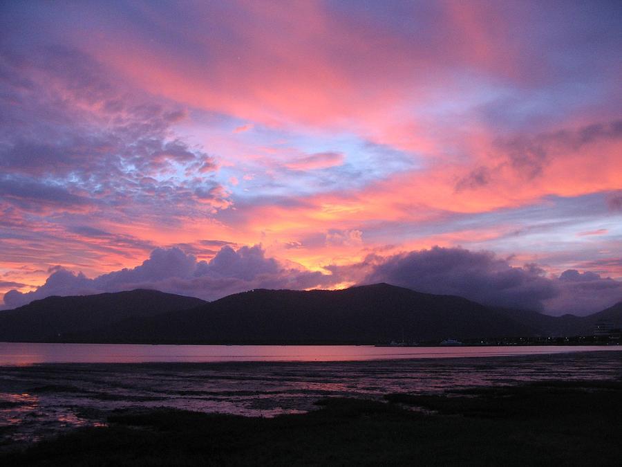 Sunrise Photograph - Natures Cairns Sunrise by Diane Sleger