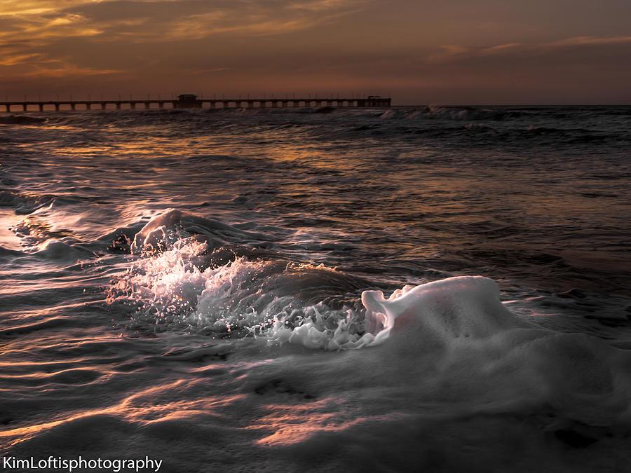 Beach Photograph - Natures Drama 3 by Kim Loftis
