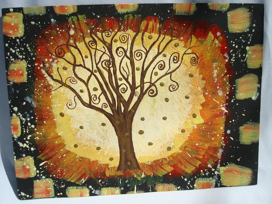 Natures Energy Painting by Gypsie Moe
