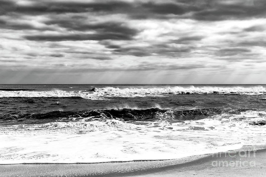 Nature Photograph - Natures Force On Long Beach Island by John Rizzuto