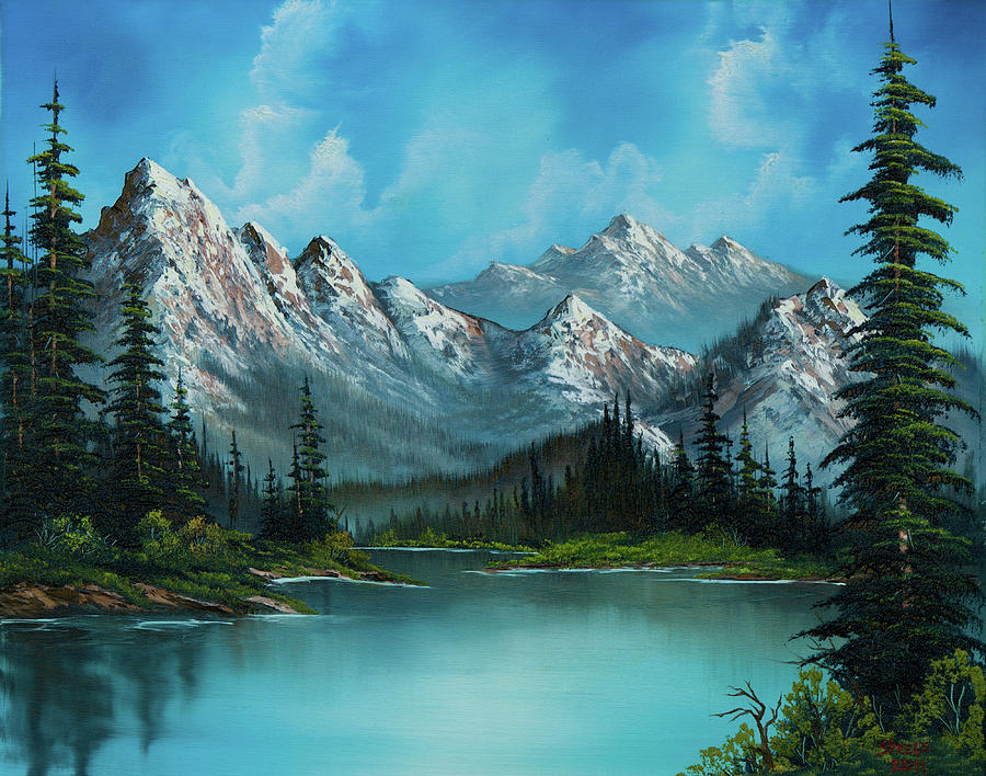 Landscape Painting - Natures Grandeur by Chris Steele