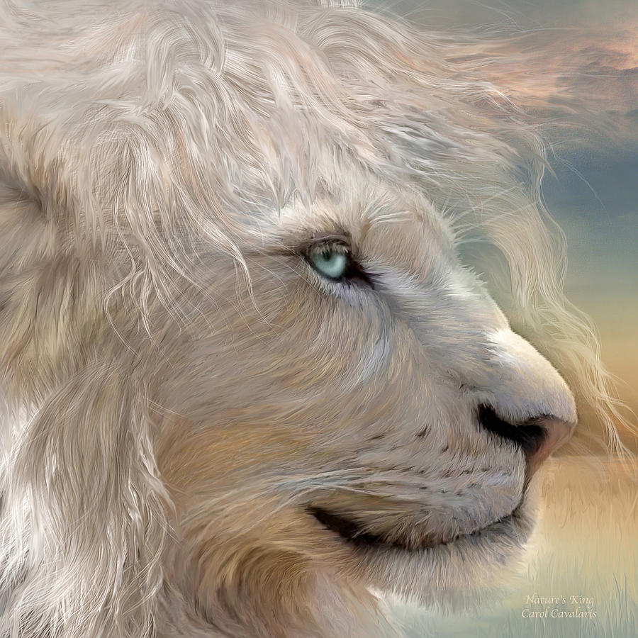 Nature's King Portrait by Carol Cavalaris