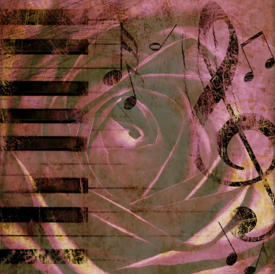 Flowers Photograph - Natures Music by Cathie Tyler
