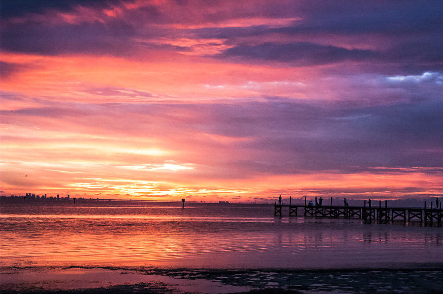 Sunset Photograph - Natures Palette by Norman Johnson