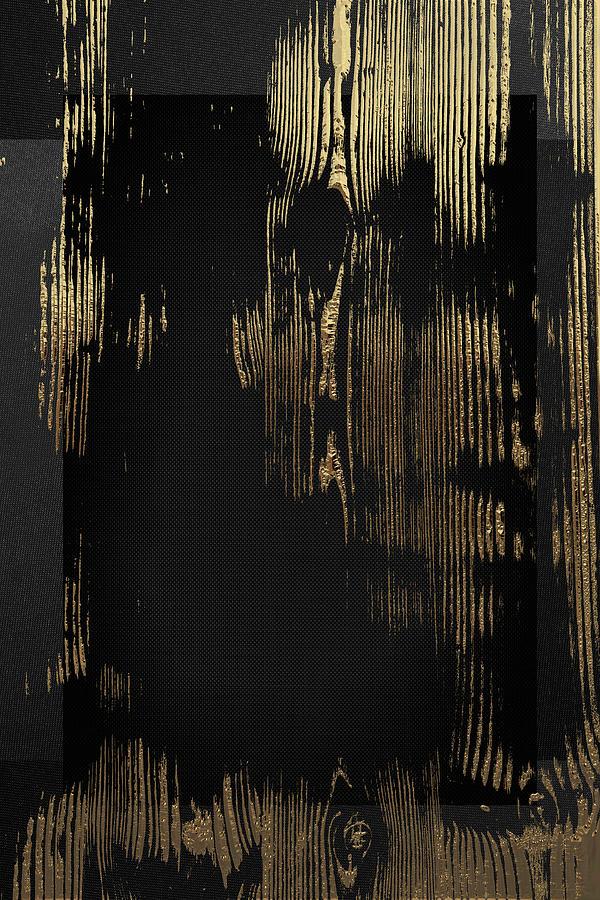 Nature Digital Art - Natures Secret Code - The Wood Grain Message #3 by Serge Averbukh