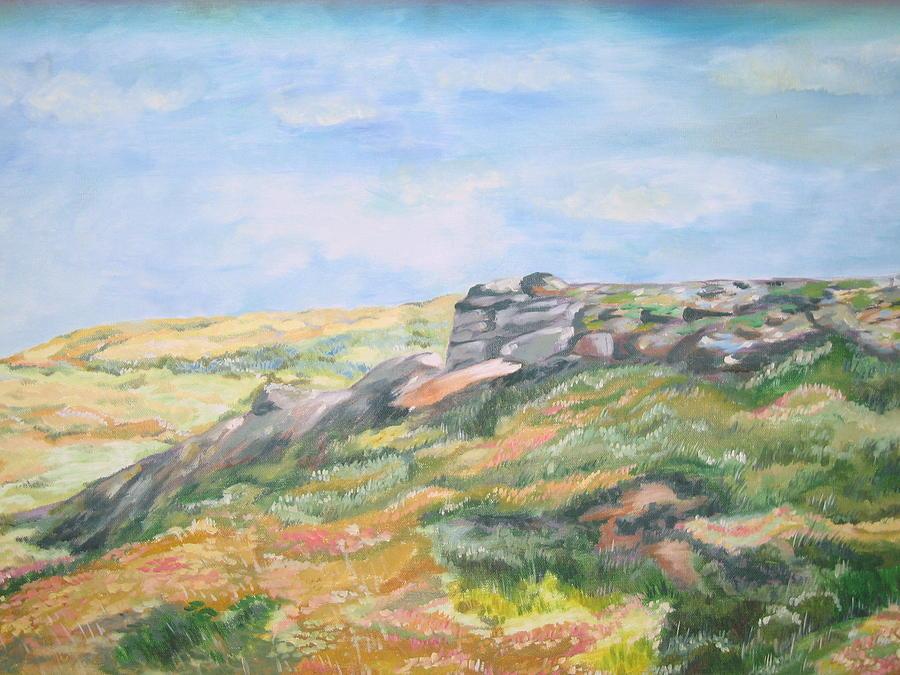 Landscape Painting - Natures Splendour by Prasida Yerra
