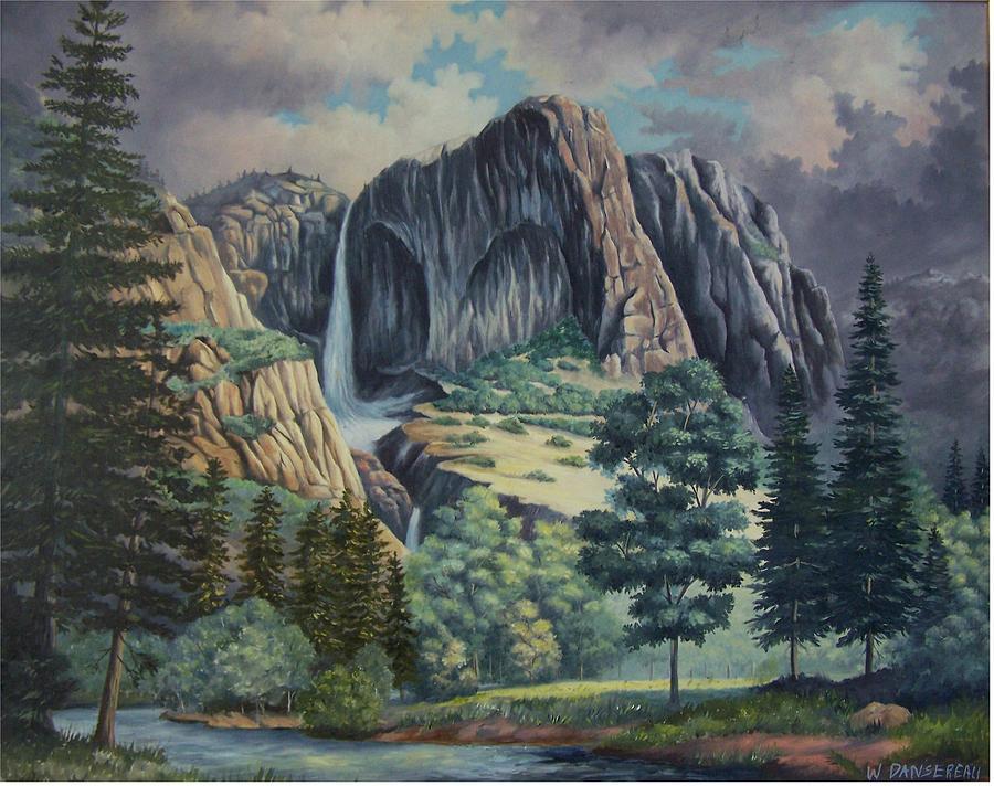 Landscape Painting - Natures Wonder by Wanda Dansereau