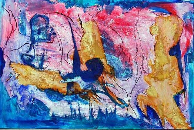 Naufragio Painting by Soledad Fernandez
