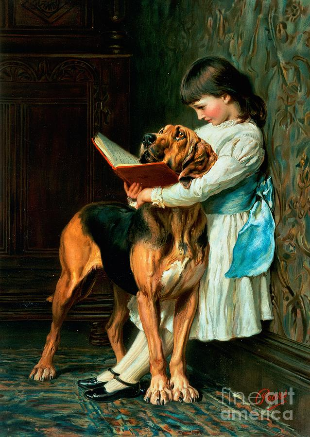 Naughty Painting - Naughty Boy Or Compulsory Education by Briton Riviere