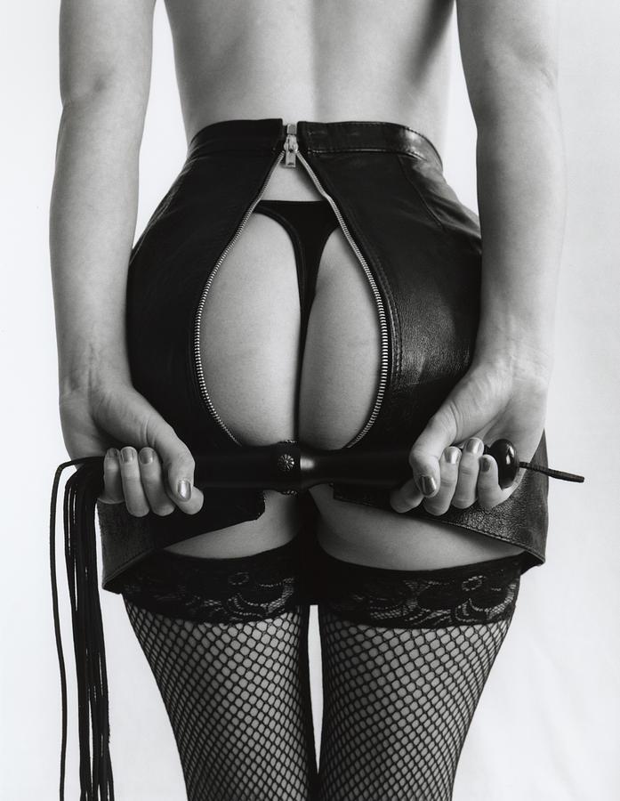 Woman Photograph - Naughty Girl by Simon Pocklington