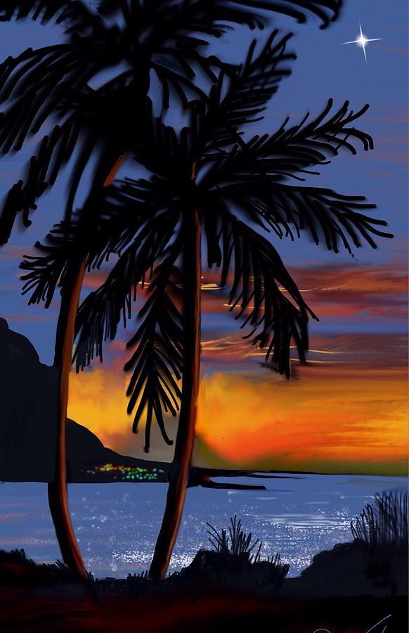 Naunahani Beach by Gerry Morgan