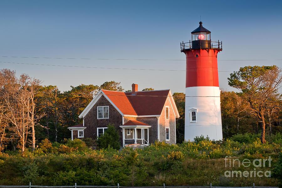 Cape Cod Photograph - Nauset Beach Light by Susan Cole Kelly