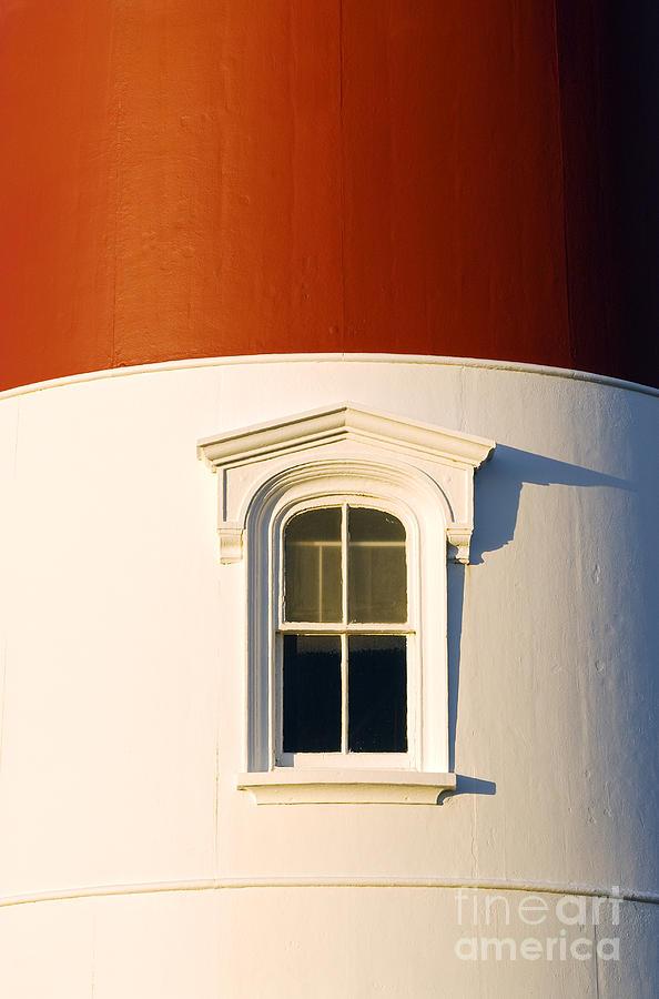 Cape Cod Photograph - Nauset Light Detail by John Greim