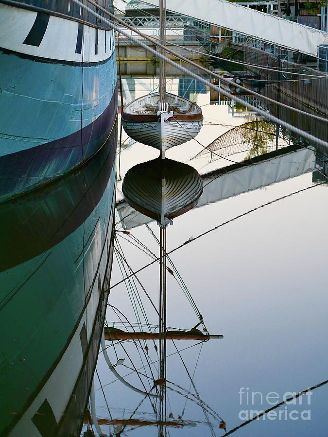Nautical Reflections  by Ronald Rockman