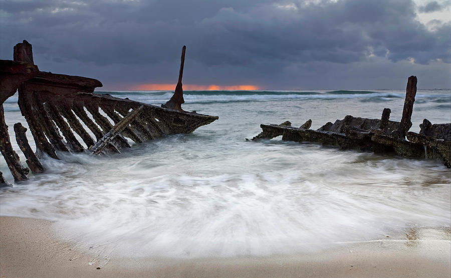 Keel Photograph - Nautical Skeleton by Mike  Dawson