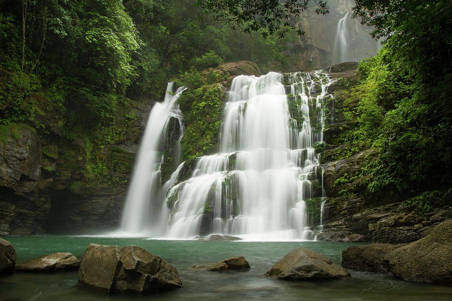 Costa Rica Photograph - Nauyaca Waterfalls // Costa Rica by Kirsten Dale
