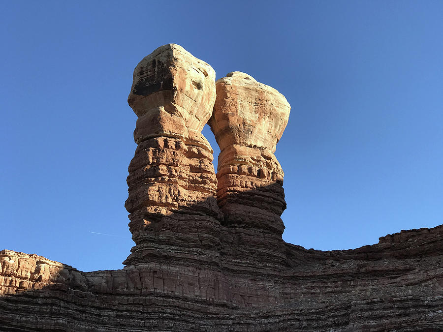 Navajo Twin Rocks by Bill Gabbert
