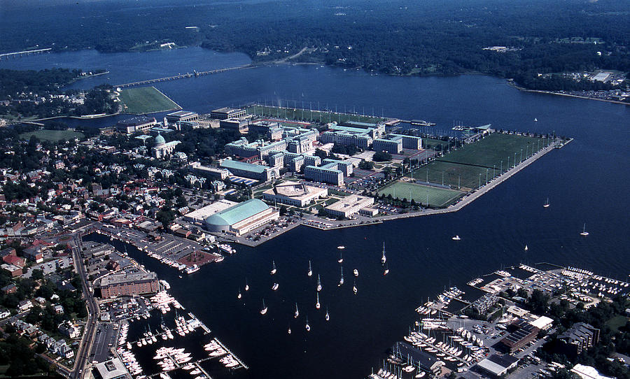 Md Photograph - Naval Academy by Skip Willits