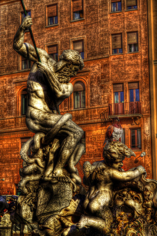 Rome Photograph - Navona 4 by Brian Thomson
