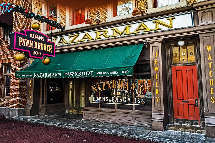 Nazerman The Pawnbroker by Gary Keesler