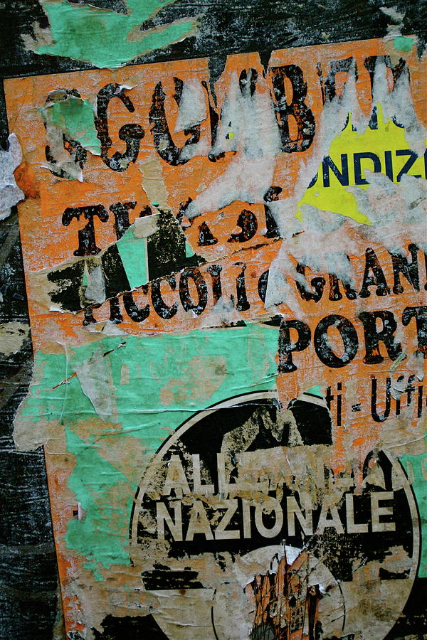 Sign Photograph - Nazionale by Jason Wolters