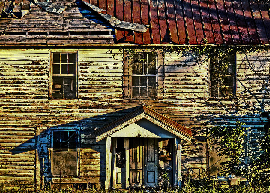 Old Buildings Photograph - Nc 57 by David A Brown