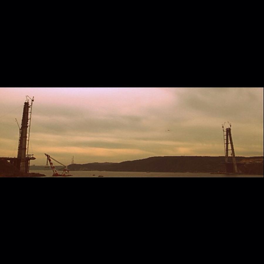 Building Photograph - #üçüncüköprü #köprü #bridge by Ozan Goren