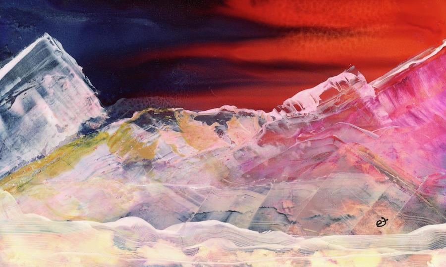 Near Arrow Mountains by Eli Tynan